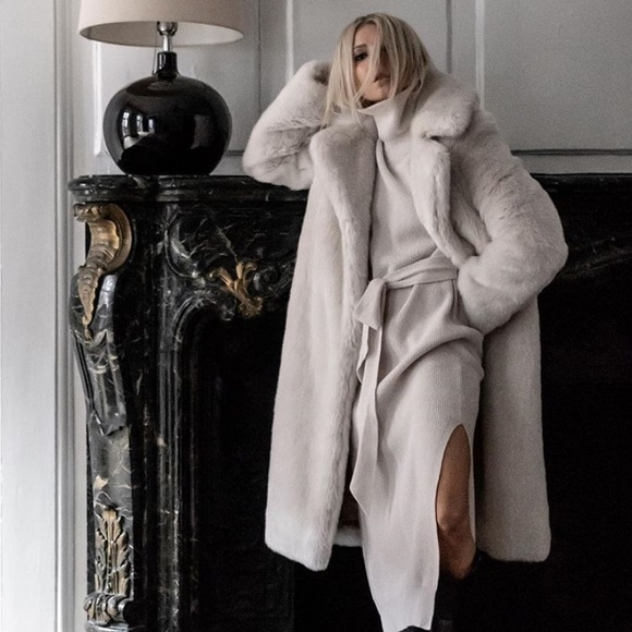 11286547db6 Aritzia Jackets   Blazers - Aritzia Moorhouse Faux Fur Coat.
